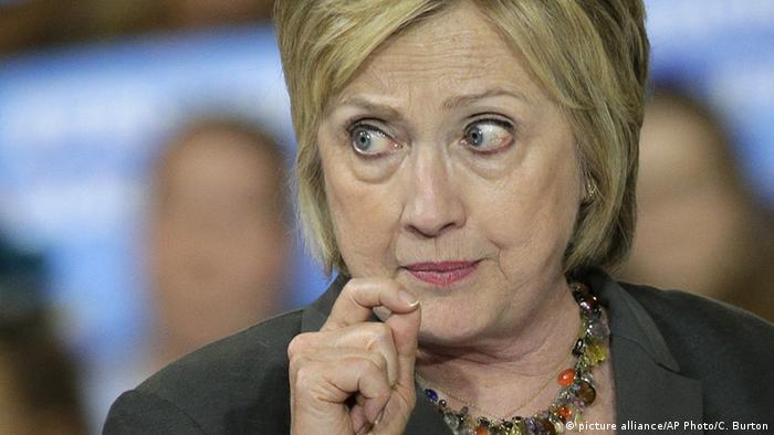 USA Hillary Clinton Wahlkampf 2016