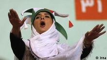 Iranian women allowed to watch Iran-Serbia volleyball match