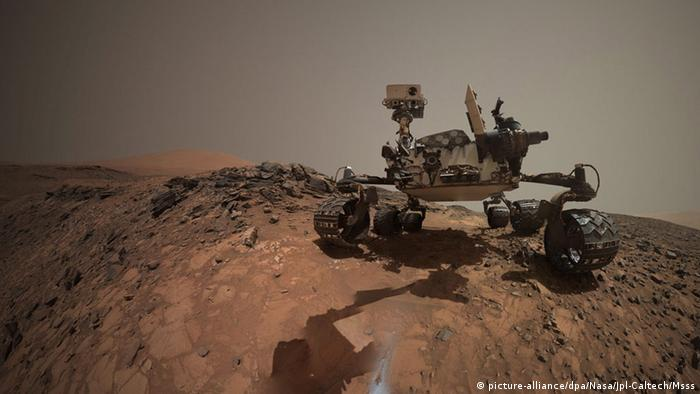 NASA Mars-Mission Curiosity (picture-alliance/dpa/Nasa/Jpl-Caltech/Msss)