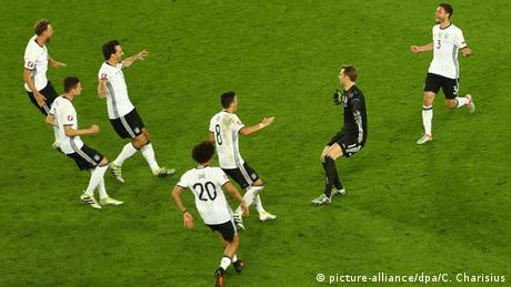 UEFA EURO 2016 Deutschland vs. Italien Jübel