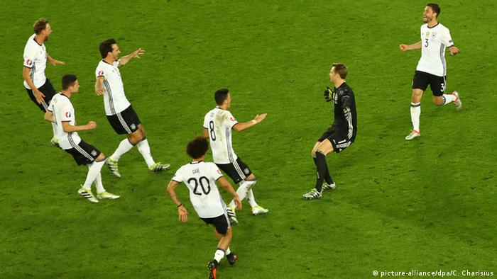 Alemanha encerra, em parte, trauma contra seleção italiana
