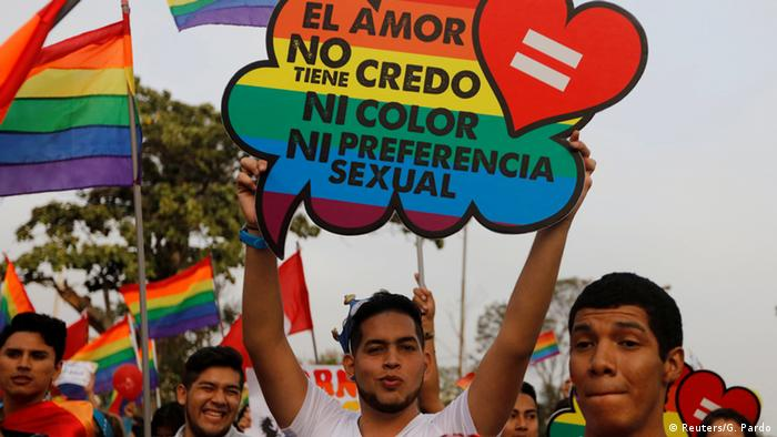 Peru LGBTI Demo in Lima