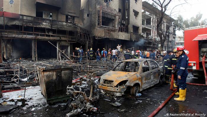 Irak Bagdad Anschlag in Karrada (Reuters/Khalid al Mousily)