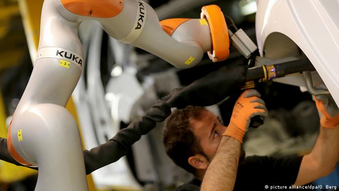 Kuka robot in action