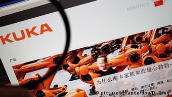 Deutschland KUKA Robotics Homepage (picture alliance/dpa/D. Qing)