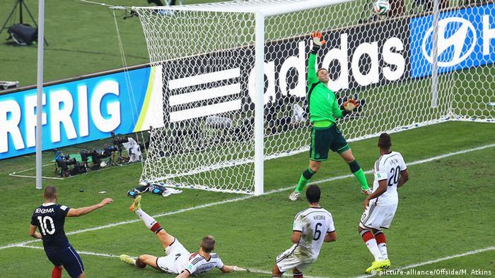 Brasilien Fußball WM 2014 Frankreich - Deutschland
