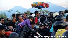 Indonesien Bali Stau Eid al-Fitr Ramadan