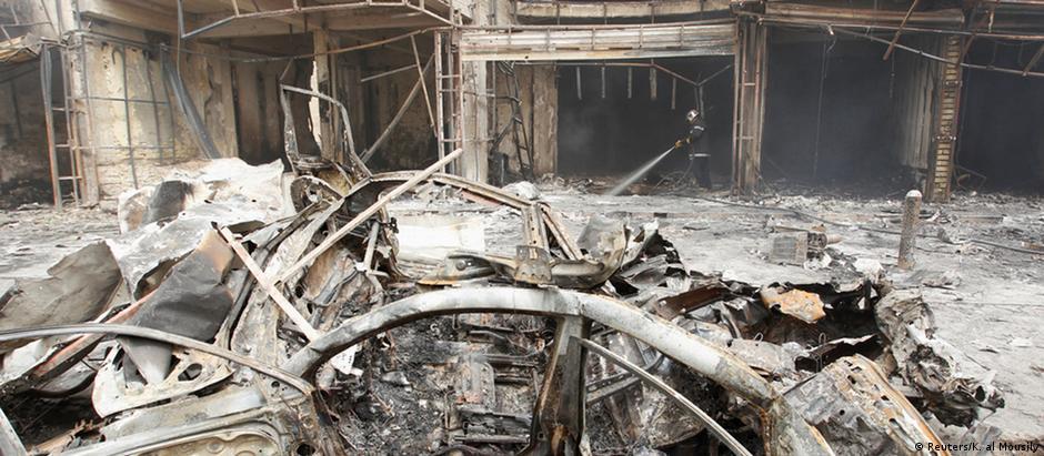 A região atingida em Bagdá, Al Karrada, é predominantemente xiita