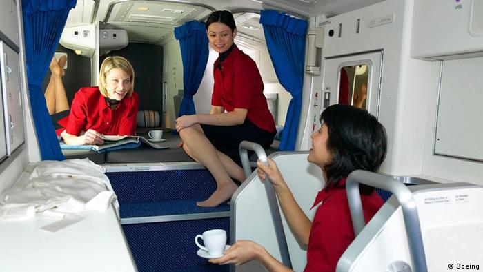 Boeing 777 Crew Kabine