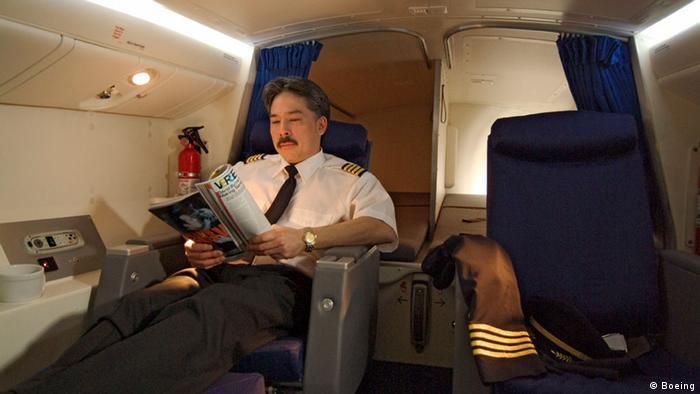 Boeing 777 Crew Kabine Kapitän