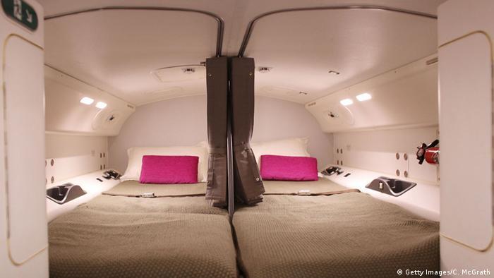 Boeing 787 Dreamliner Crew Schlafplätze