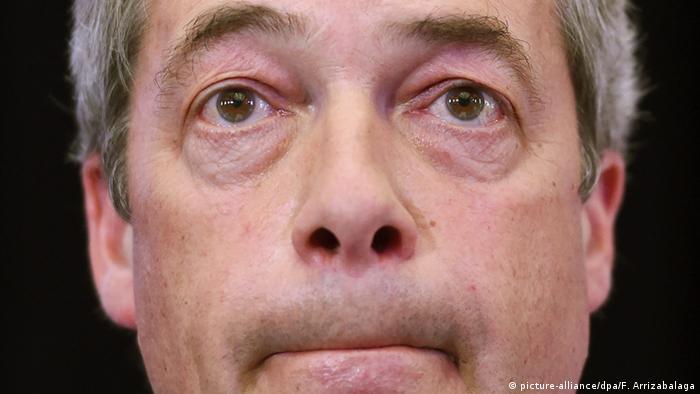 Großbritannien Nigel Farage Symbolbild Rücktritt