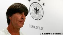 04.07.2016 Football Soccer - Euro 2016 - Germany News Conference - Stade Camille Fournier, Evian-Les-Bains, France - 4/7/16 - Germany's coach Joachim Loew during news conference. REUTERS/Denis Balibouse (c) Reuters/D. Balibouse