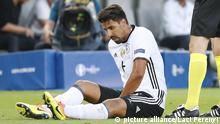 UEFA Euro 2016 Deutschland - Italien Khedira Sami