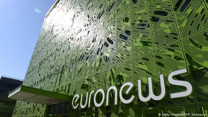 Frankreich Euronews Zentrale in Lyon