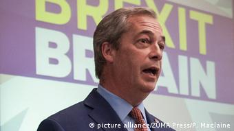 Großbritannien Nigel Farage Rücktritt