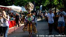 Österreich World Bodypainting Festival am Wörthersee