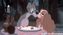 Still from film 'Lady and the Tramp' (picture alliance/kpa)