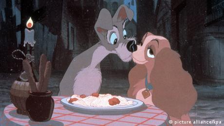 Disney Zeichentrick-Hunde Susi und Strolch (Foto: dpa)