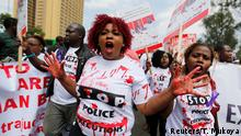 Kenia Nairobi Demonstration Mord an Willie Kimani