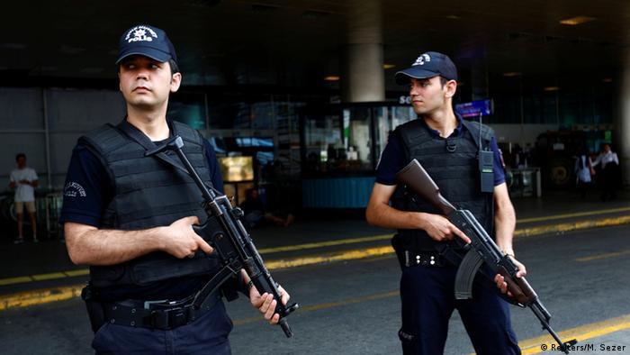Türkei Sicherheitsmaßnahmen am Flughafen Istanbul