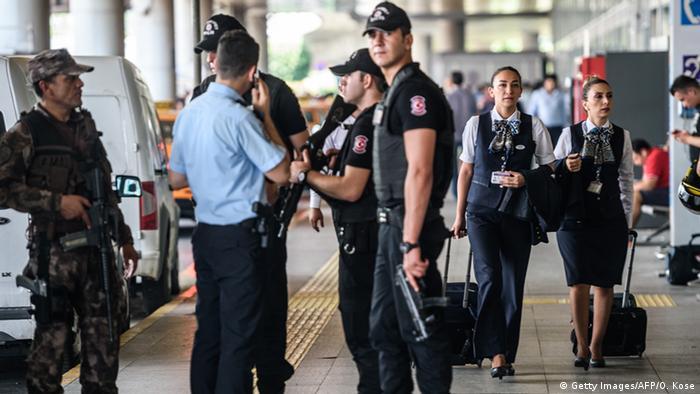 Saldırıdan sonra alınan güvenlik önlemleri.