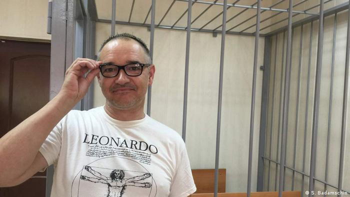 Антон Носик в зале суда (фото из архива)