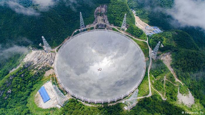 China, Teleskop in Pingtang (Reuters/L. Xu)