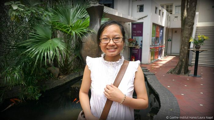 Dieu Linh Bui from Vietnam, winner of Goethe-Institut competition, Copyright: Goethe-Institut Hanoi / Laura Nagel