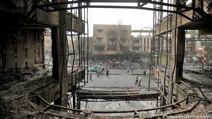 Irak Bagdad Anschlag Karrada Einkaufszentrum