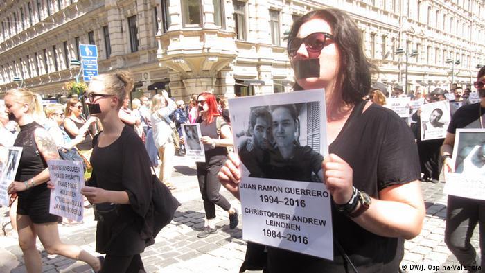 Helsinki LGTBI Pride Demonstration