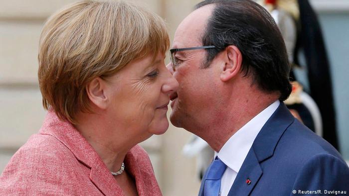 Paris Westbalkan Konferenz Merkel am Konferenztisch