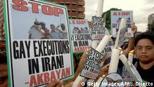Philippinen, Protest für Homosexuellenrechte
