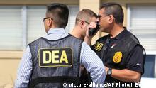 USA Orlando DEA Drogen Polizei im Einsatz
