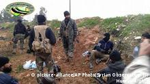 Amnesty International Bericht zu Verbrechen in Syrien-Krieg - Kämpfer Al-Nusra-Front