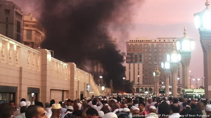 Suicide attack in Medina