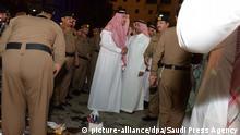 Saudi-Arabien, Selbstmordanschlag in Medina