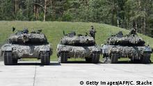 Deutschland Kampfpanzer vom Typ Leopard