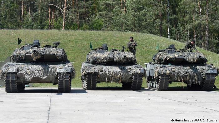 Танки Leopard 2