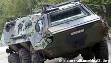 Deutschland Spürpanzer vom Typ Fuchs