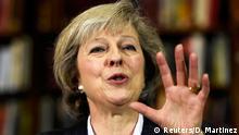 Großbritannien Theresa May in London