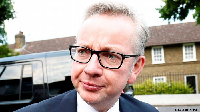 Tory politician Michael Gove in London (Reuters/N. Hall)
