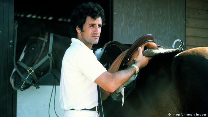 Filmstill aus 'STAYING ALIVE' von 1983 mit Frank Stallone.