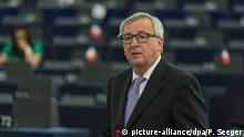 EP Debatte zu Brexit Rede Juncker