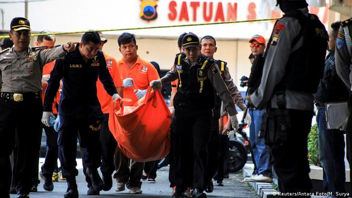 Indonesien Selbstmordanschlag in Solo (Reuters/Antara Foto/M. Surya)