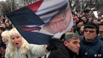 Milosevic-Trauerfeier in Belgrad