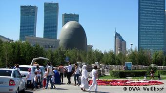 Астана, улица Нур Жол