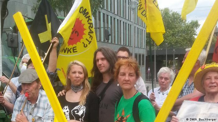 Protest against Gorleben in Berlin