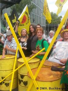 Protestas en Gorleben.