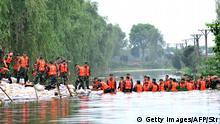 China Tote nach Überflutung